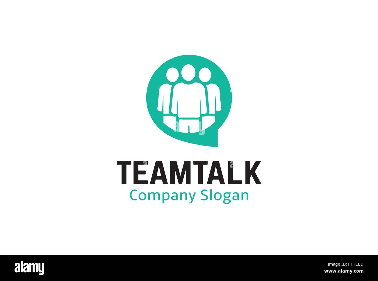 Team Talk Design Illustration - Stock Vector