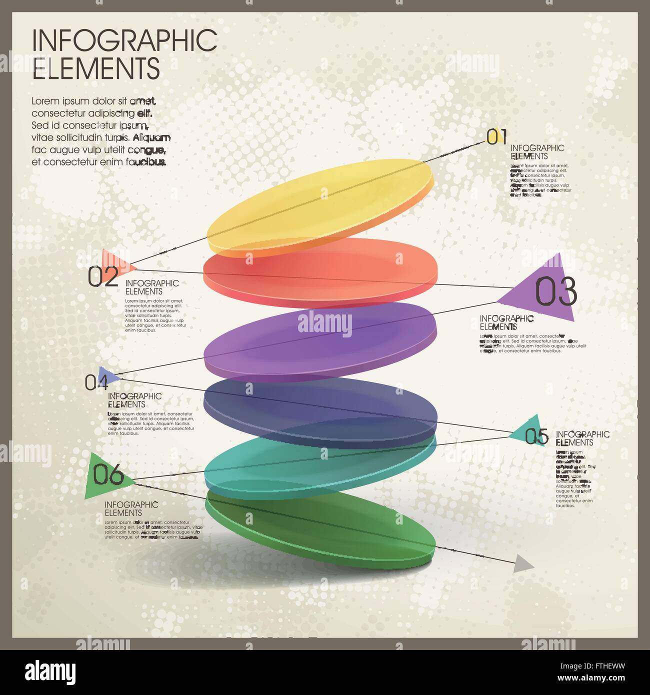 colorful translucent dynamic pie chart infographic elements FTHEWW colorful translucent dynamic pie chart infographic elements stock