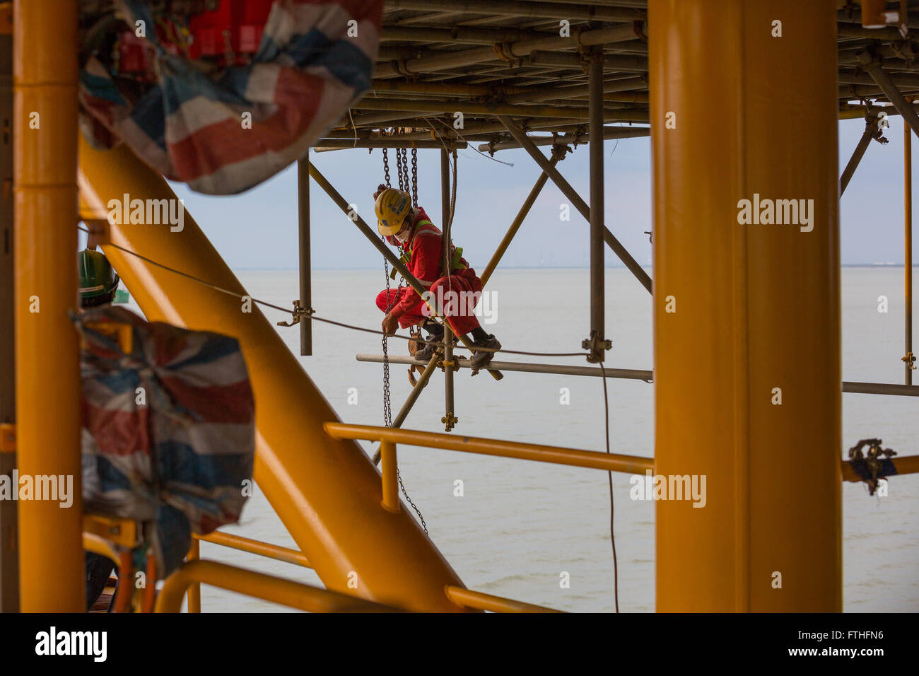 Scaffolding Painting Stock Photos Amp Scaffolding Painting