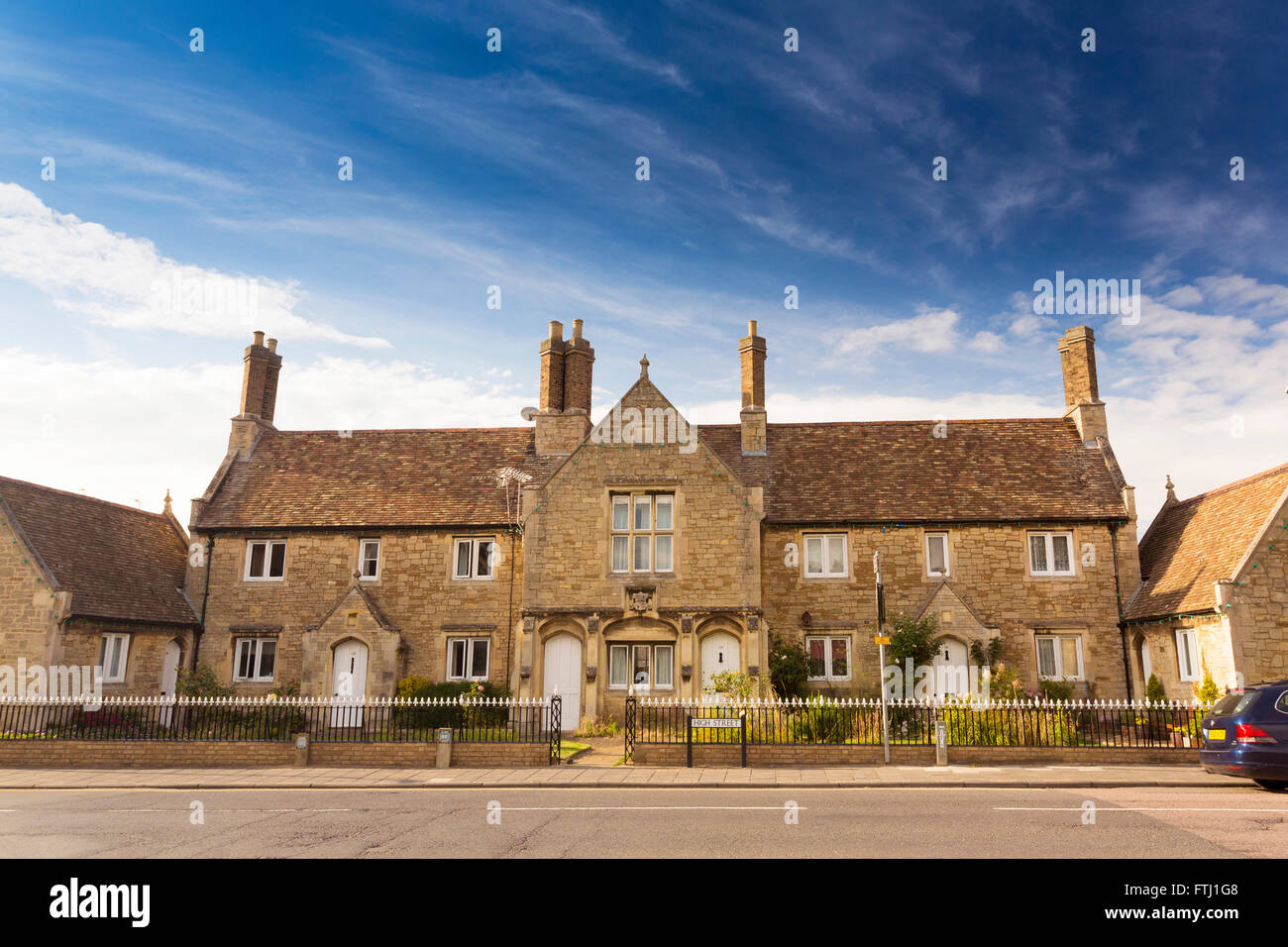 Ramsey in Cambridgeshire, UK - Stock Image