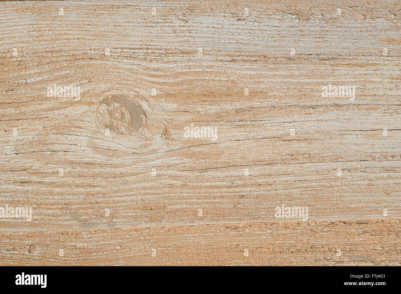 old weathered wooden wall texture - Stock Image