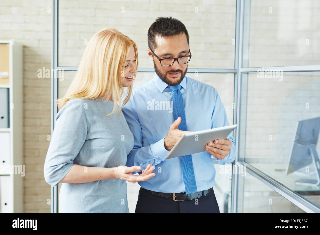 Planning work - Stock Image