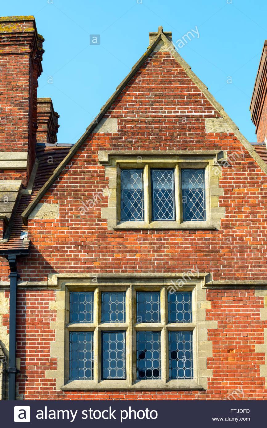 House gable, Arundel, West Sussex, England, UK - Stock Image
