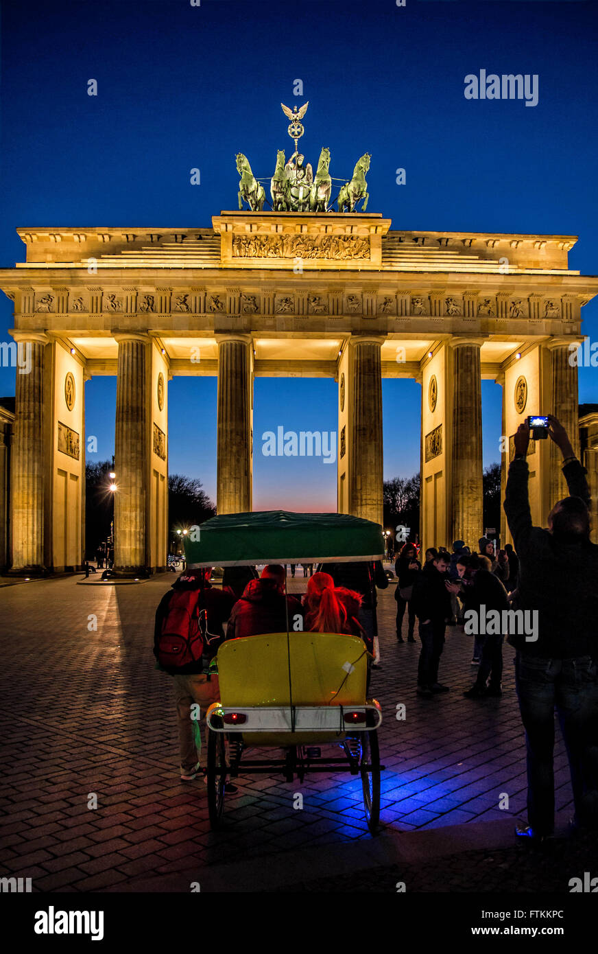 Brandenburg Gate - Stock Image