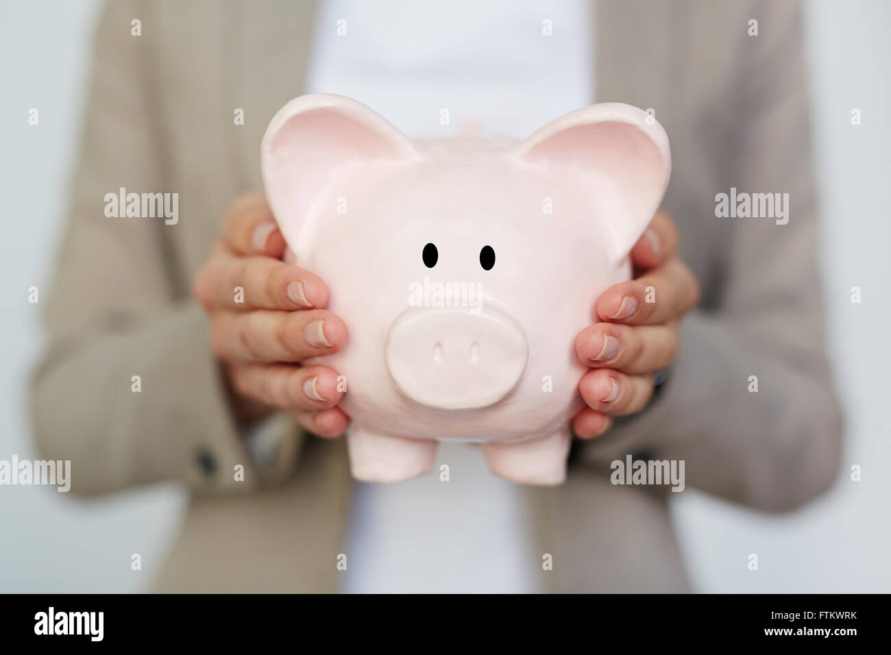 Business reserves - Stock Image