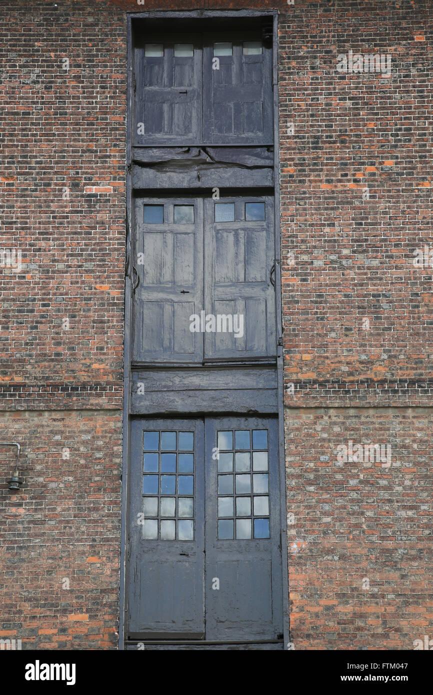 Chatham Dockyard Doors - Stock Image