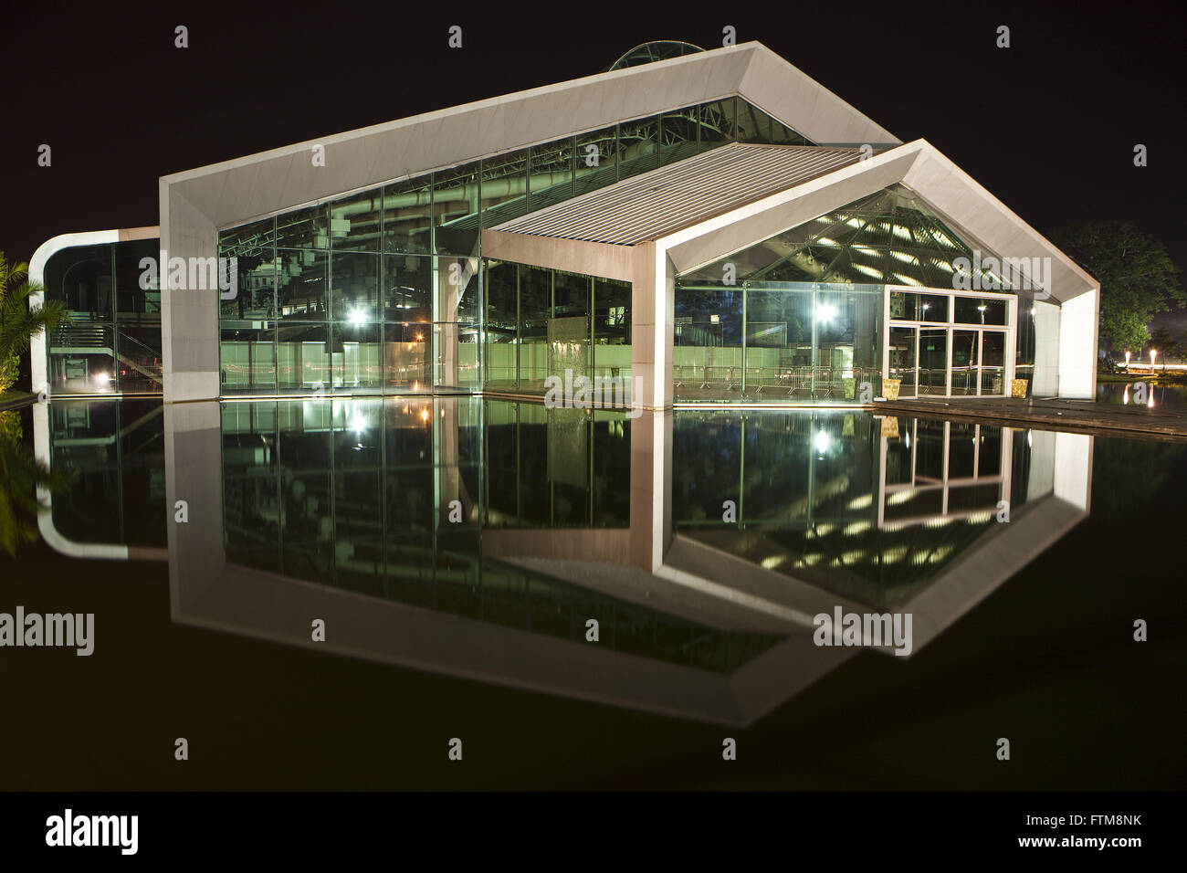 Hangar Conventions and Fairs Center of the Amazon in the neighborhood Marco Stock Photo