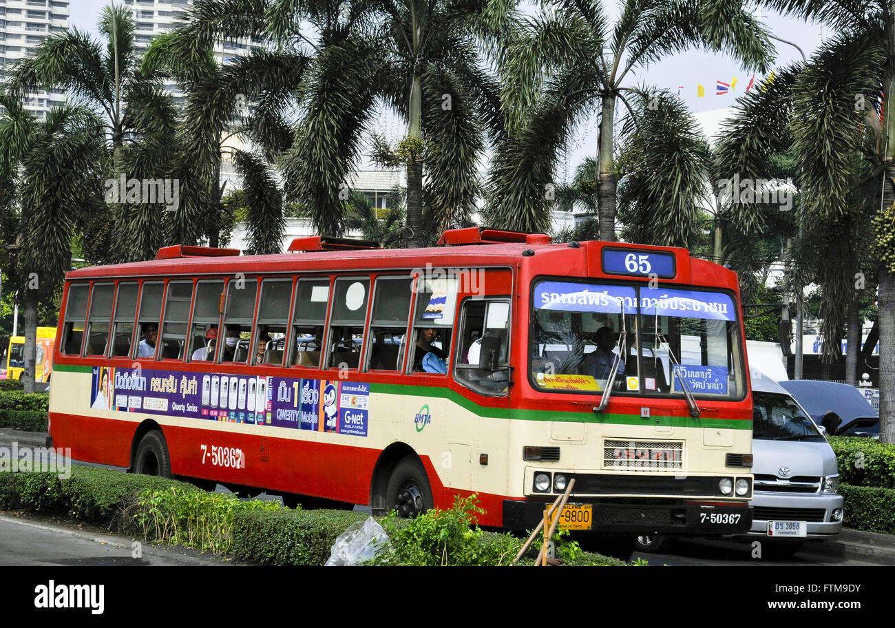 Public transportation of Bangkok city - Stock Image