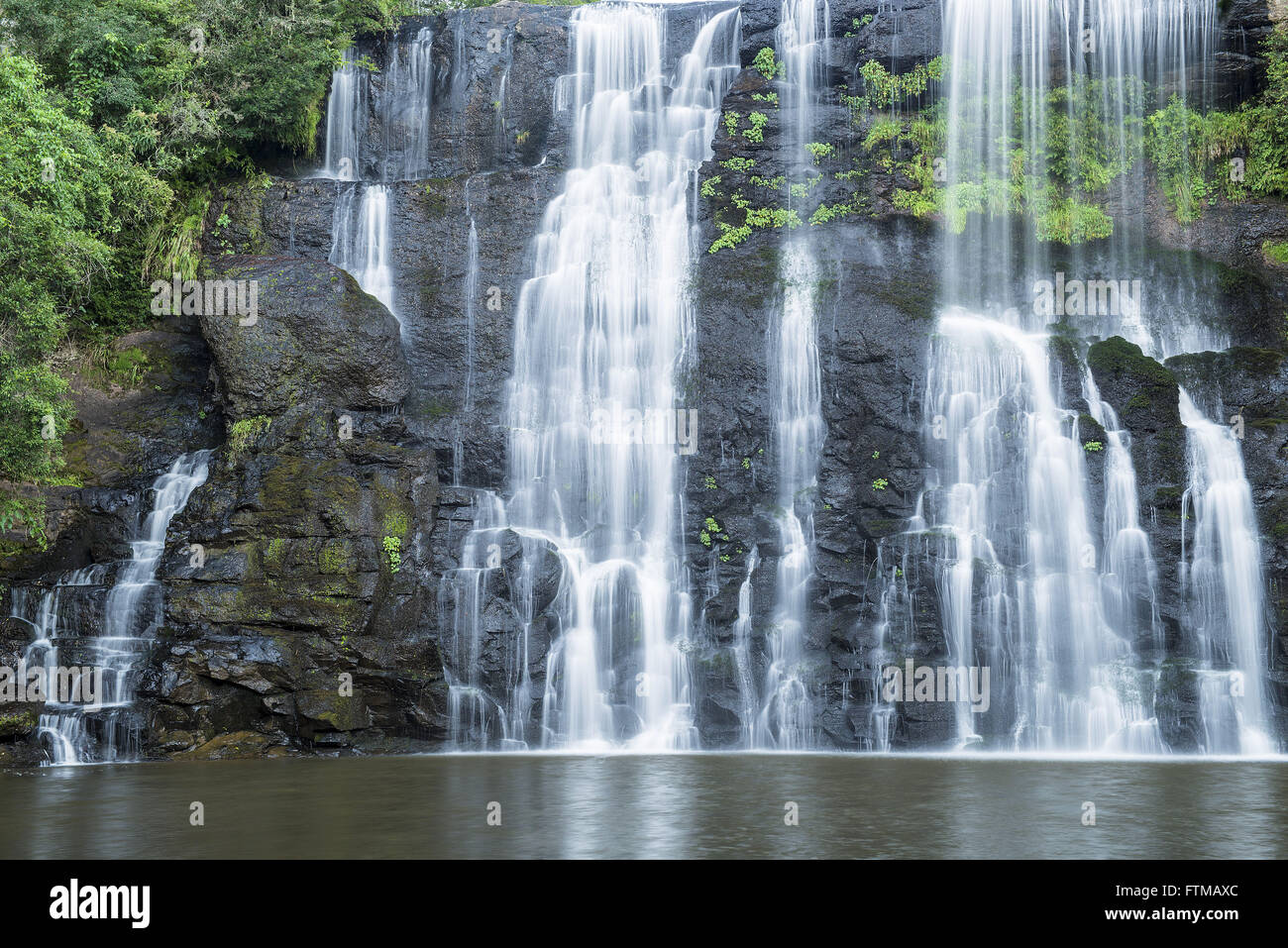 Waterfall Uncle Franca - Stock Image