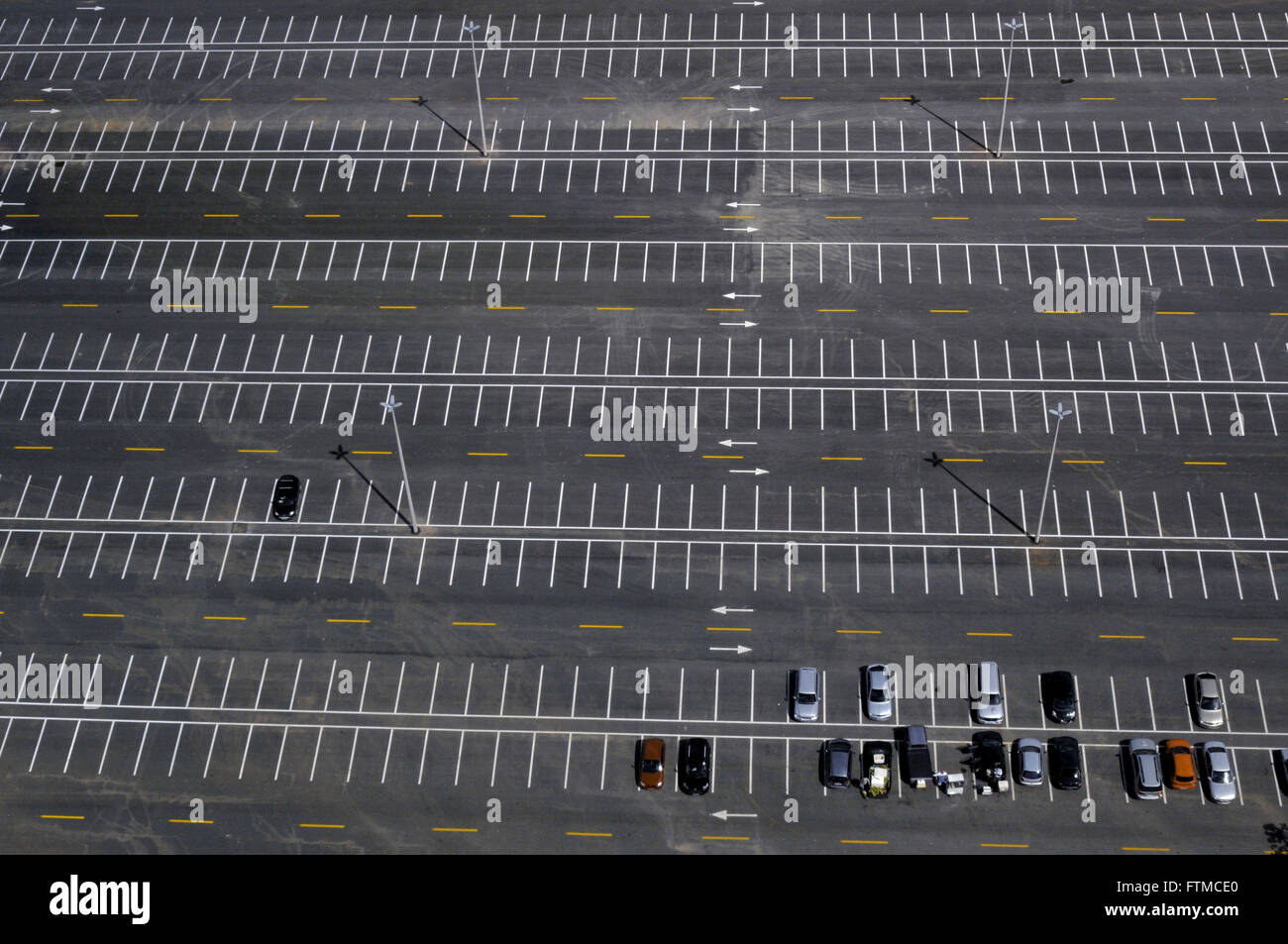 Parking Tower Digital TV also called Flor do Cerrado - Stock Image
