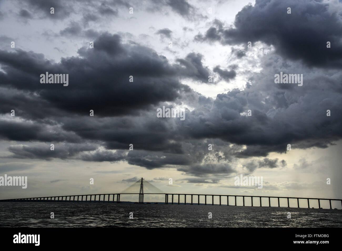 Rio Negro Bridge - Stock Image