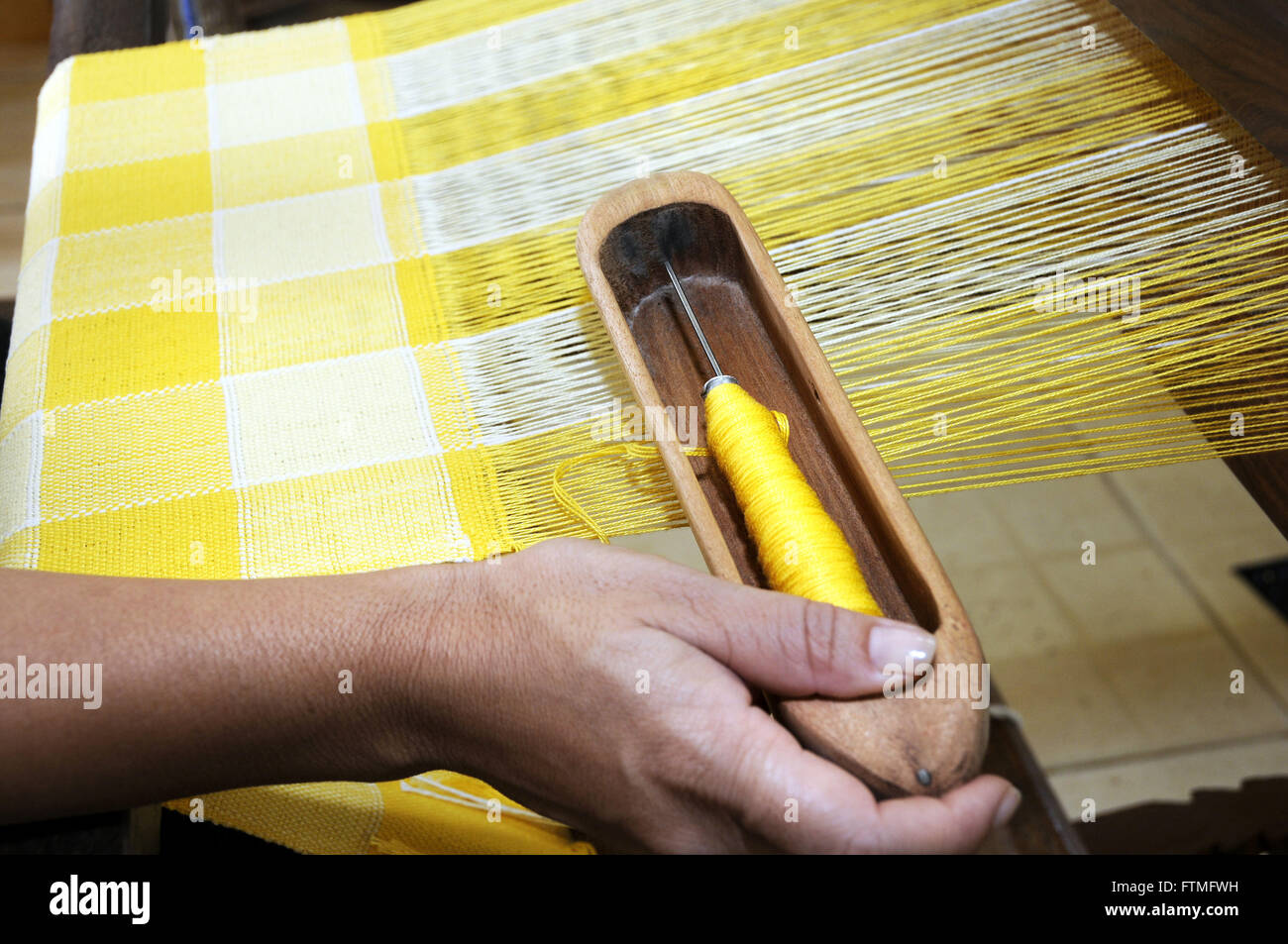 Fundacao Cultural Calmon Barreto keeps core to preserve the artisanal production of - Stock Image