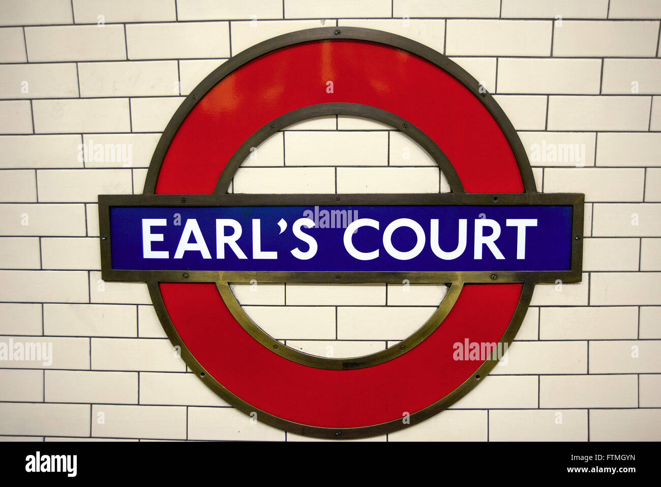 Season of Earl`s Court in the district of the same name - Stock Image
