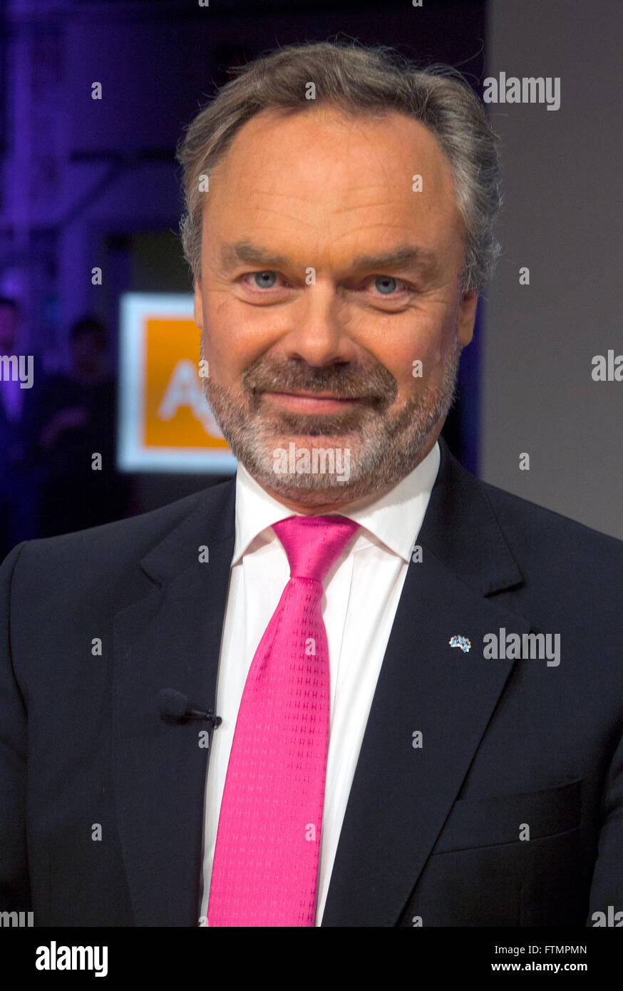 JAN BJÖRKLUND leader of the Swedish Liberals - Stock Image