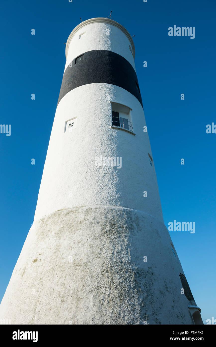 Långe Jan lighthouse. Öland, Sweden. Stock Photo