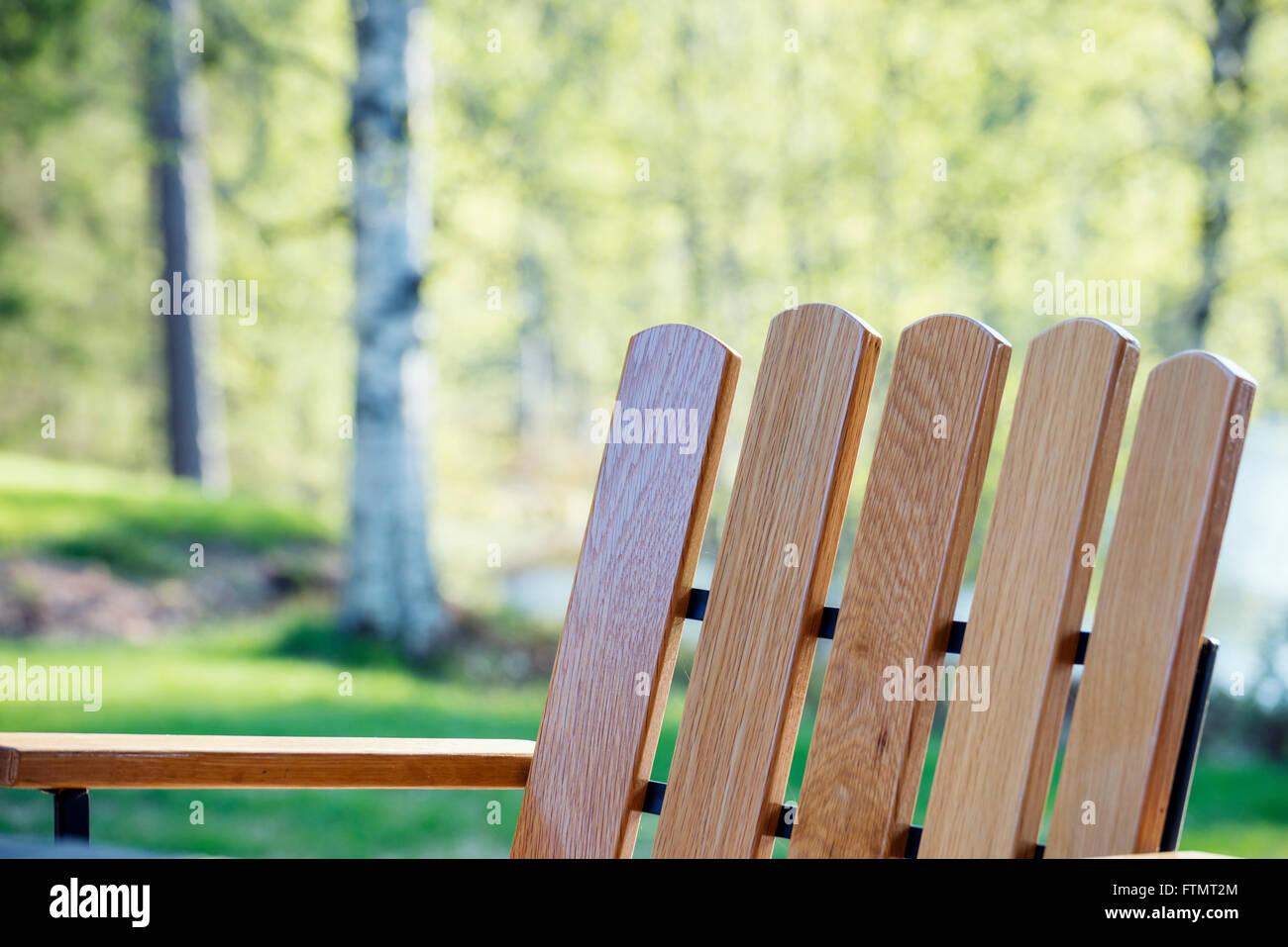 """Garden chair """"Grythyttan A2"""" Stock Photo"""
