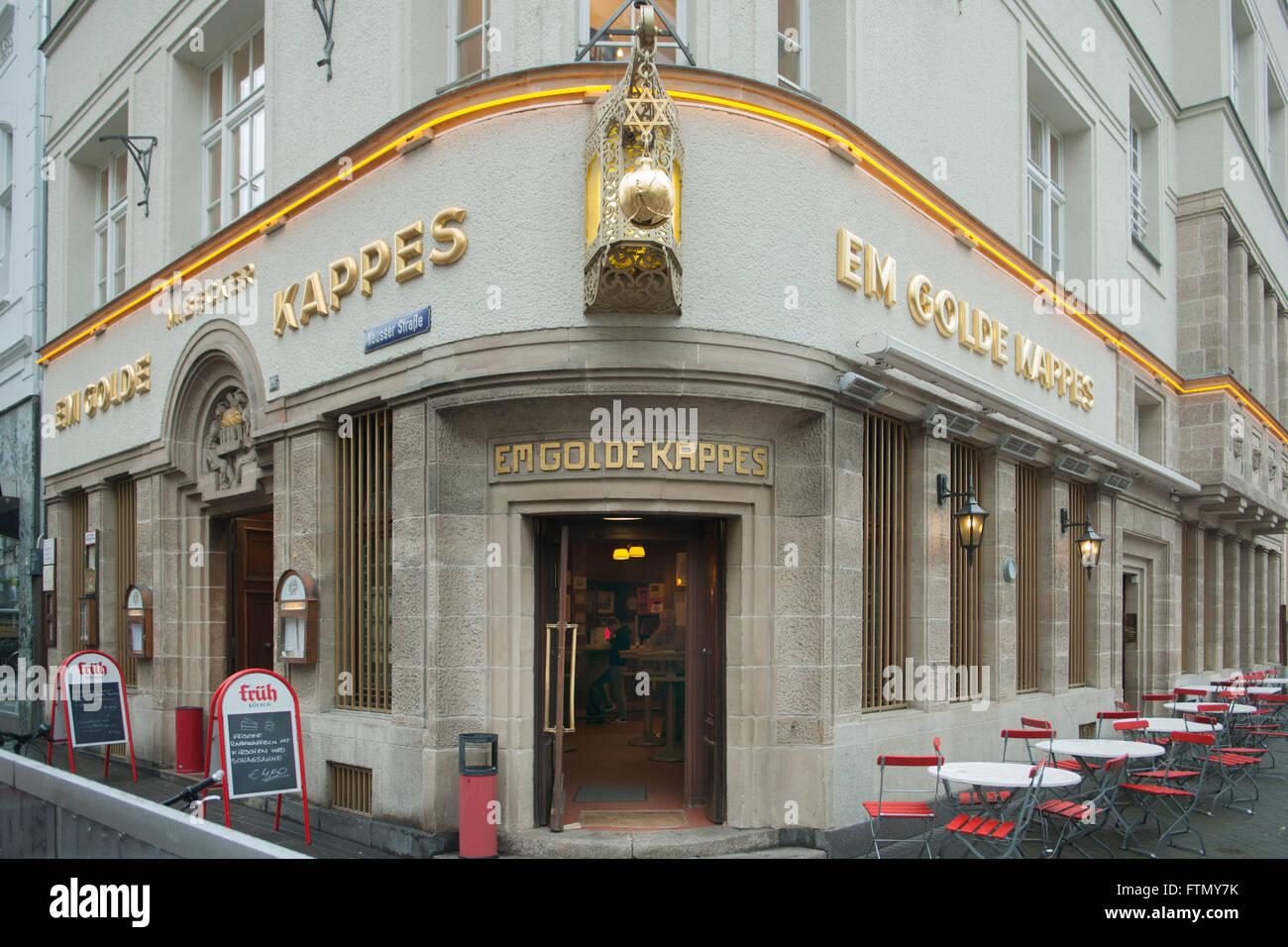 Köln, Nippes, Neusser Strasse 295, Em golde Kappes - Stock Image