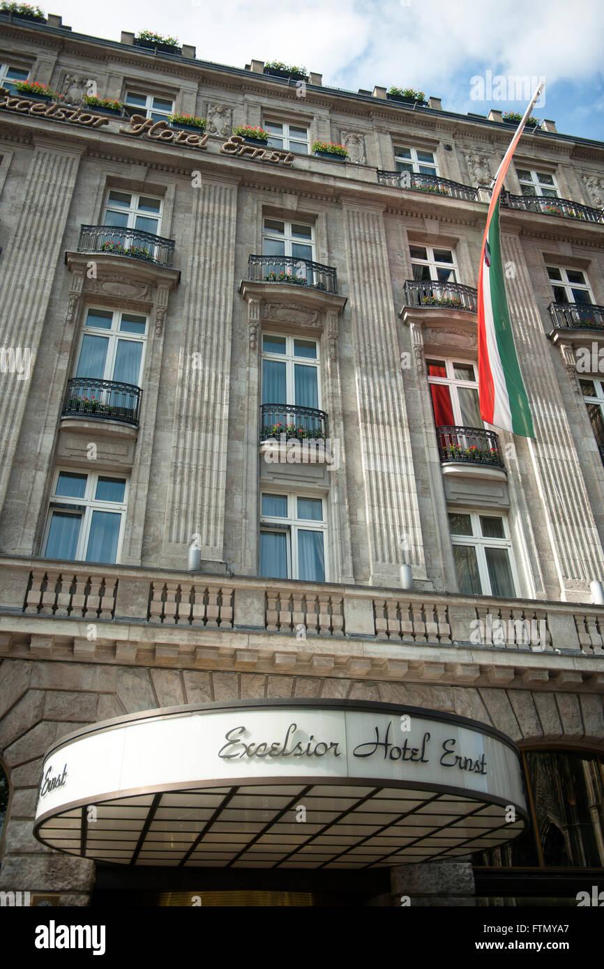 Köln, Altstadt-Nord, Excelsior Hotel Ernst - Stock Image