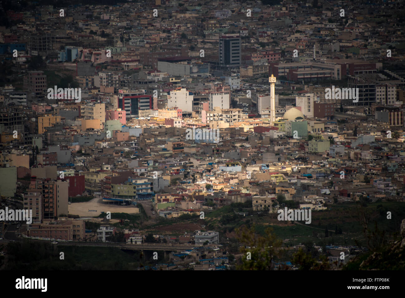 Aerial view of Dohuk, Iraq, Kurdistan - Stock Image