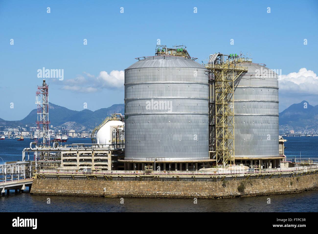 tanques de armazenamento de gas natural na ilha redonda On tanques para gas natural