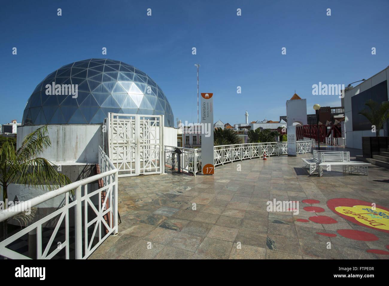 Rubens de Azevedo Planetarium - Dragao do Mar Center of Art and Culture - Stock Image