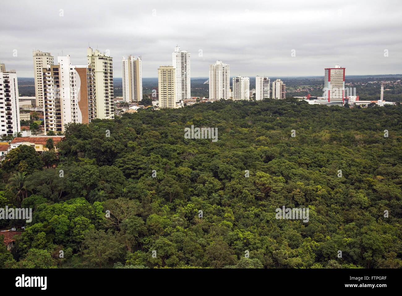 State Park Mae Bonifacia - neighborhood Goiabeiras - Stock Image