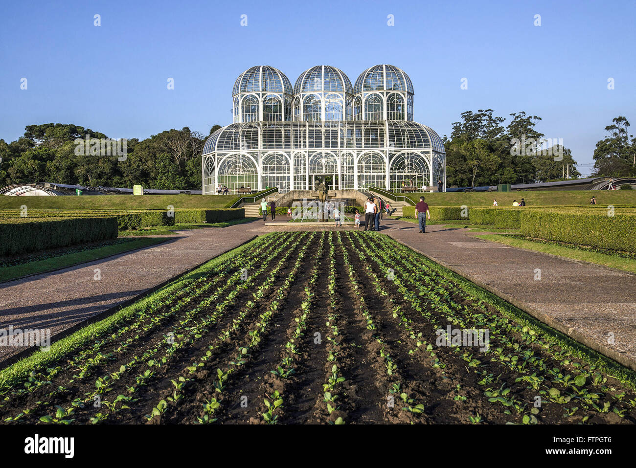 Jardim Botanico de Curitiba officially named Maria Jardim Botanico Garfunkel Richbieter - Stock Image