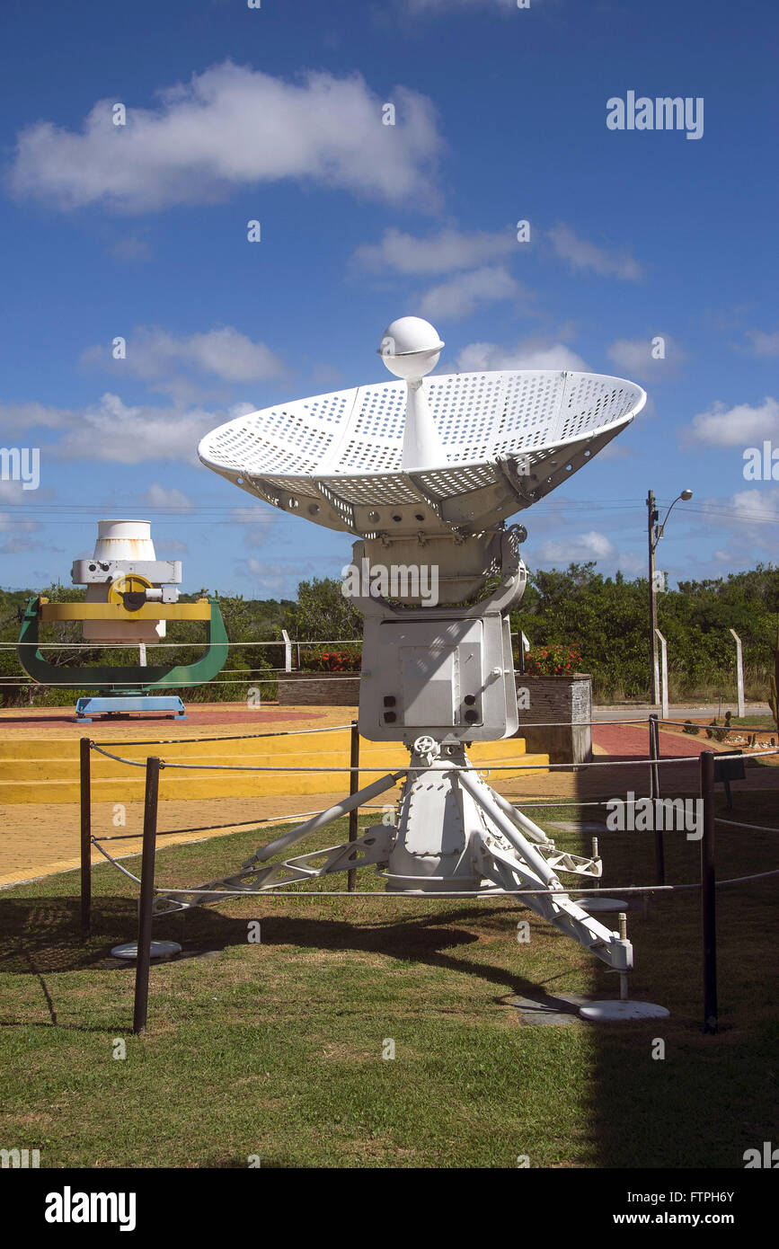 Forecast Station used to track probes - Stock Image