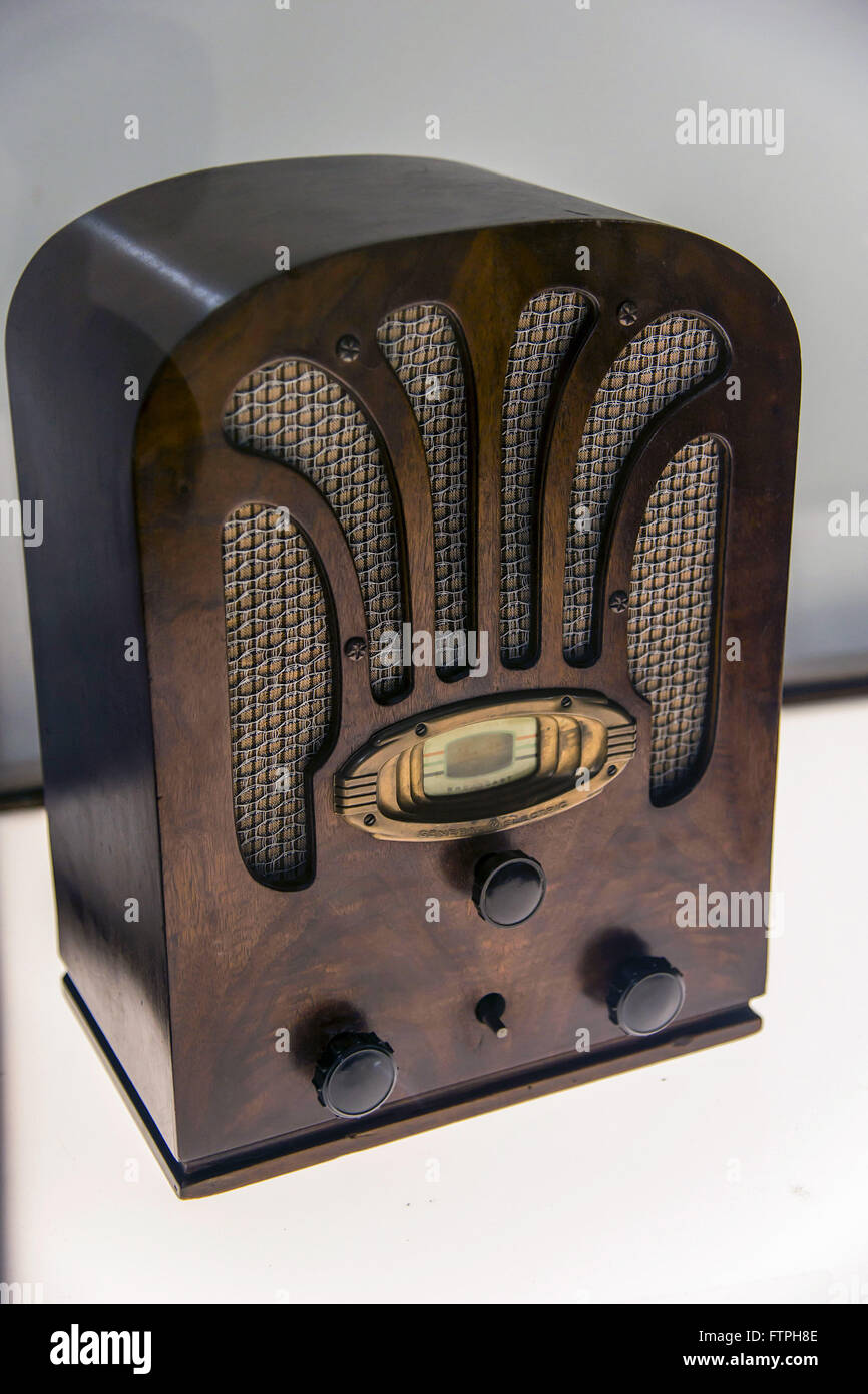 Radio apparatus Chapel 1936 - Stock Image