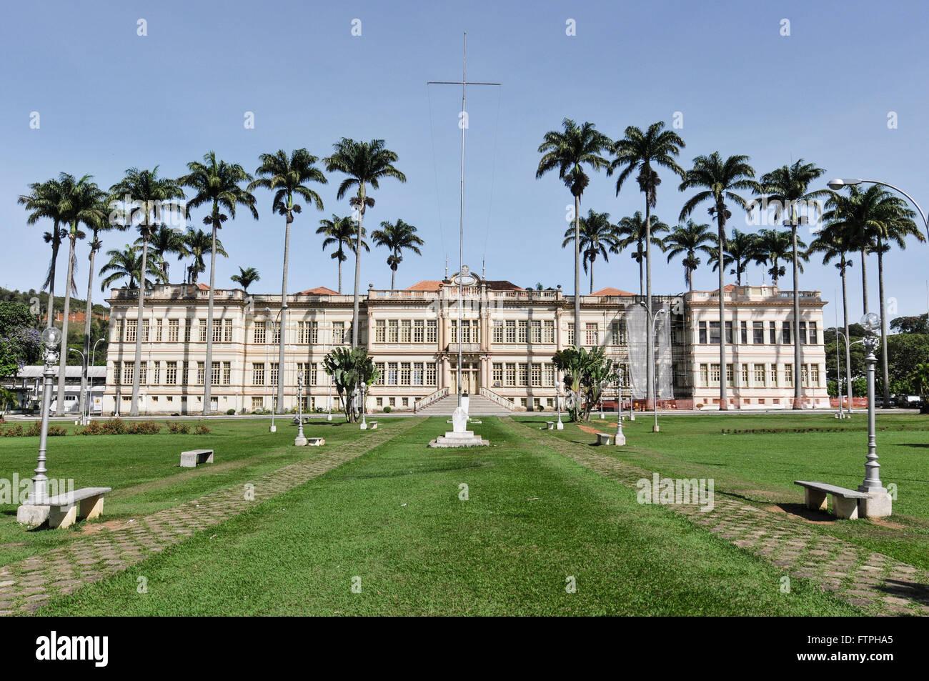 Building known as Arthur Bernardes Bernardao in the Federal University of Vicosa UFV campus - Stock Image
