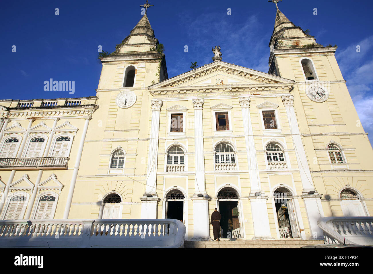 Catedral da Se - also called Our Lady of Victory Church - historic center Stock Photo