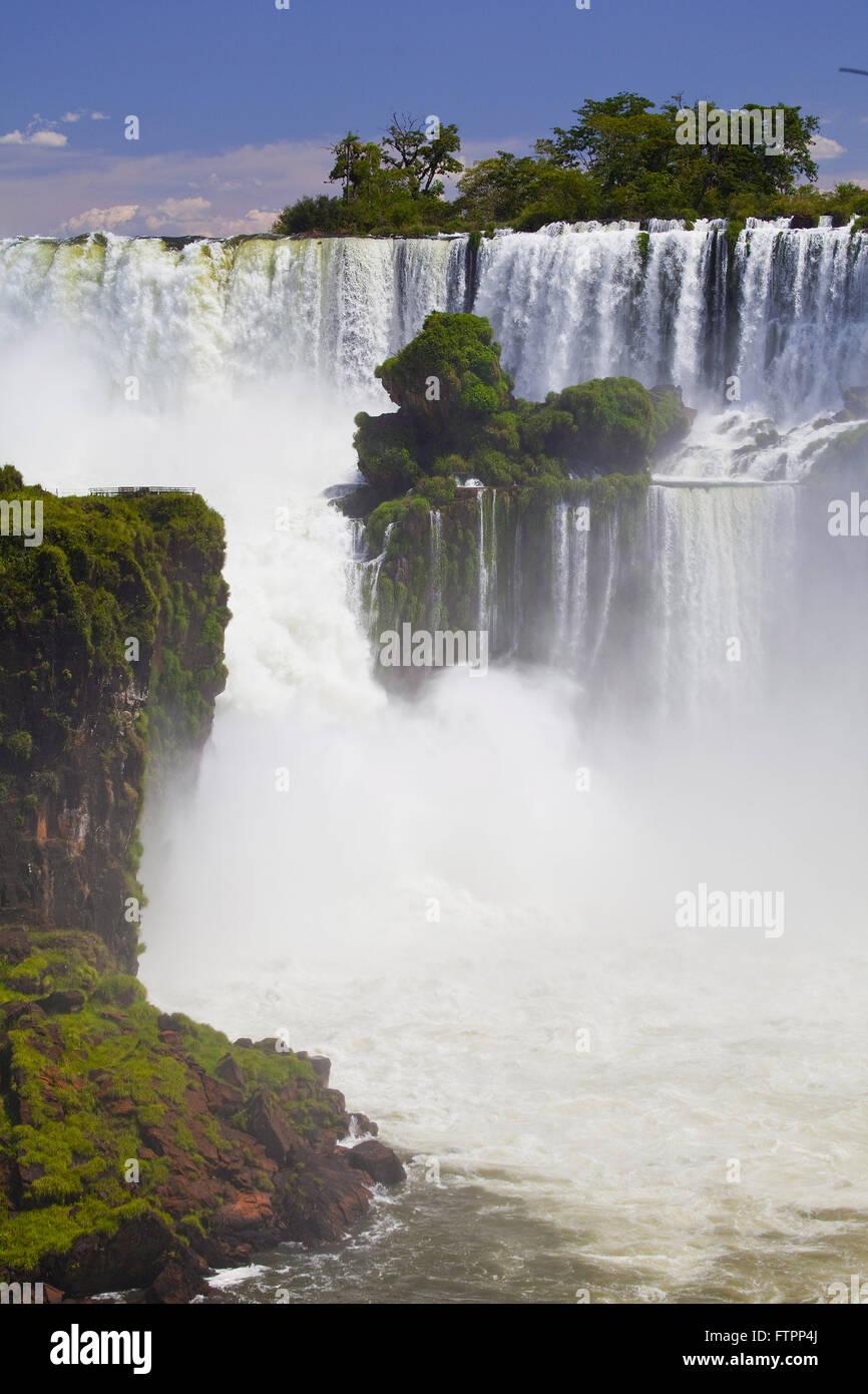 Cataratas del Iguazu in Iguazu National Park Stock Photo