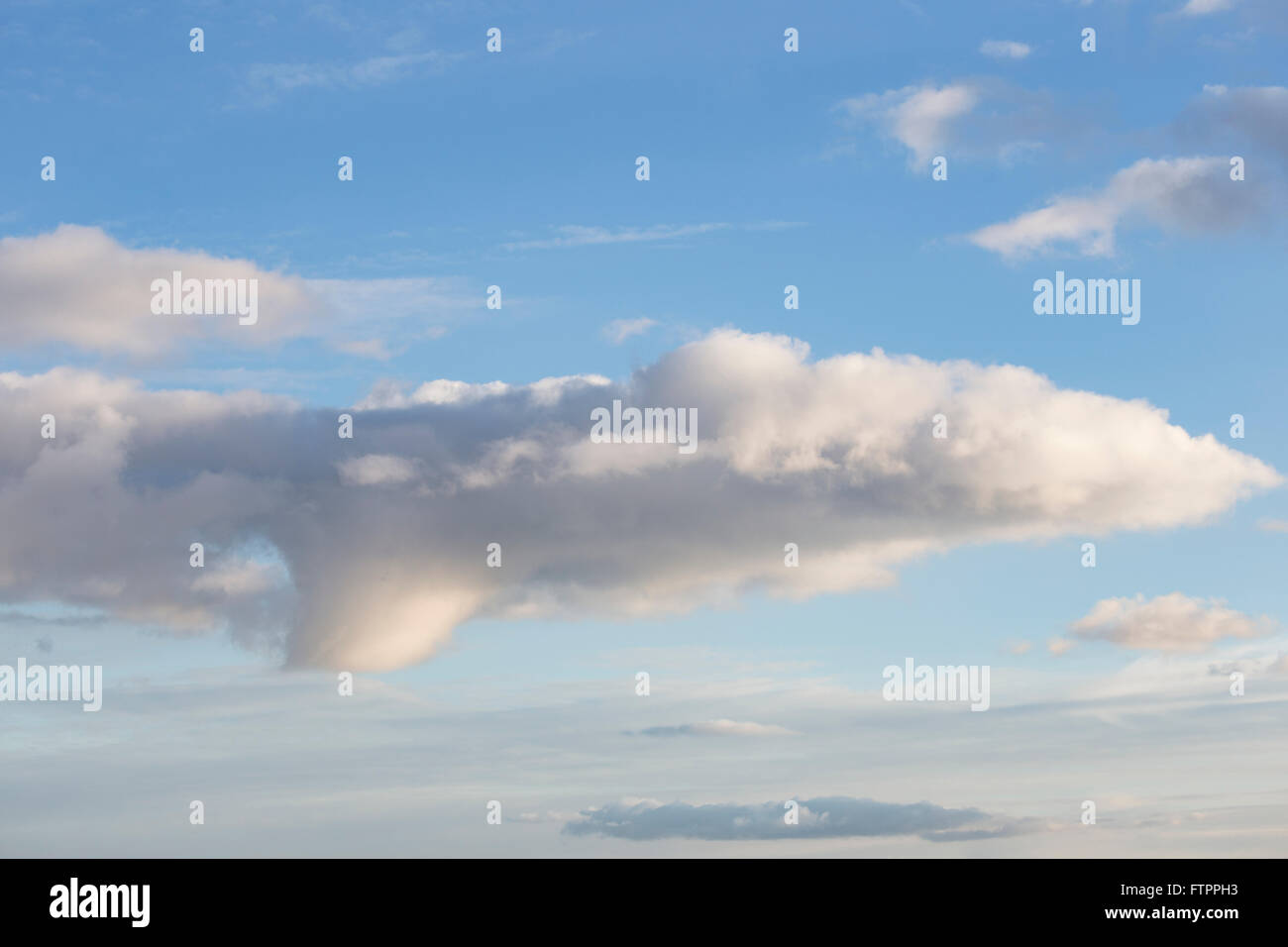 Towering Cumulus cloud formation - Stock Image