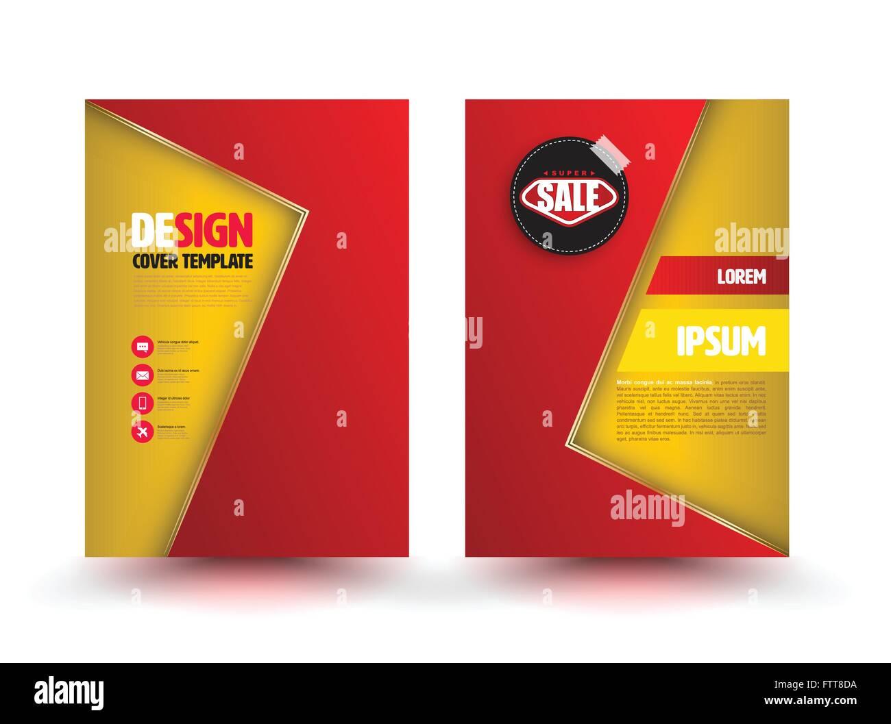 Vector Vector Art Brochure Design Templates