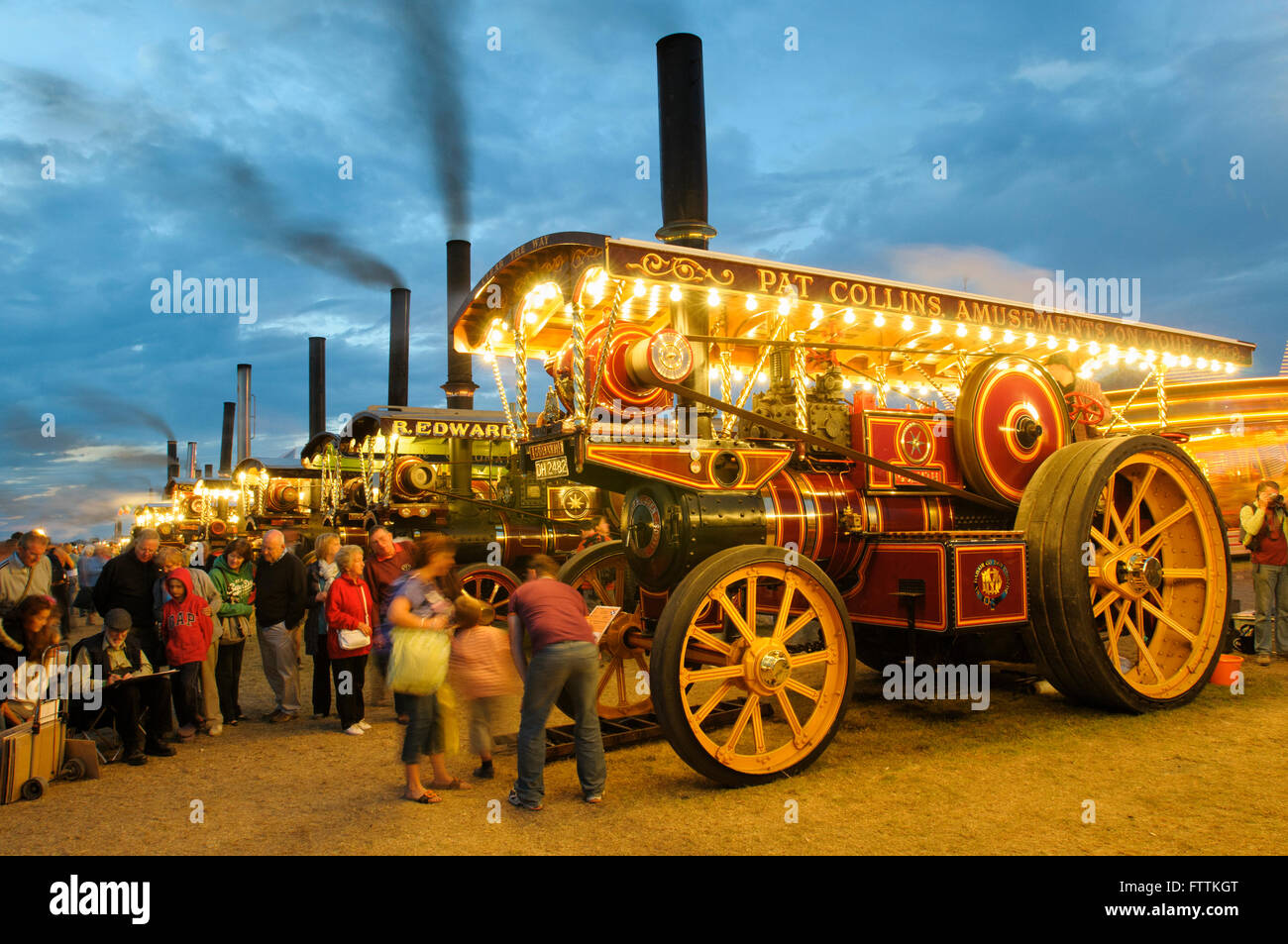 McLaren Showman's Road Locomotive, 'Goliath', DH 2482 at The Great Dorset Steam Fair, 2010, England, - Stock Image