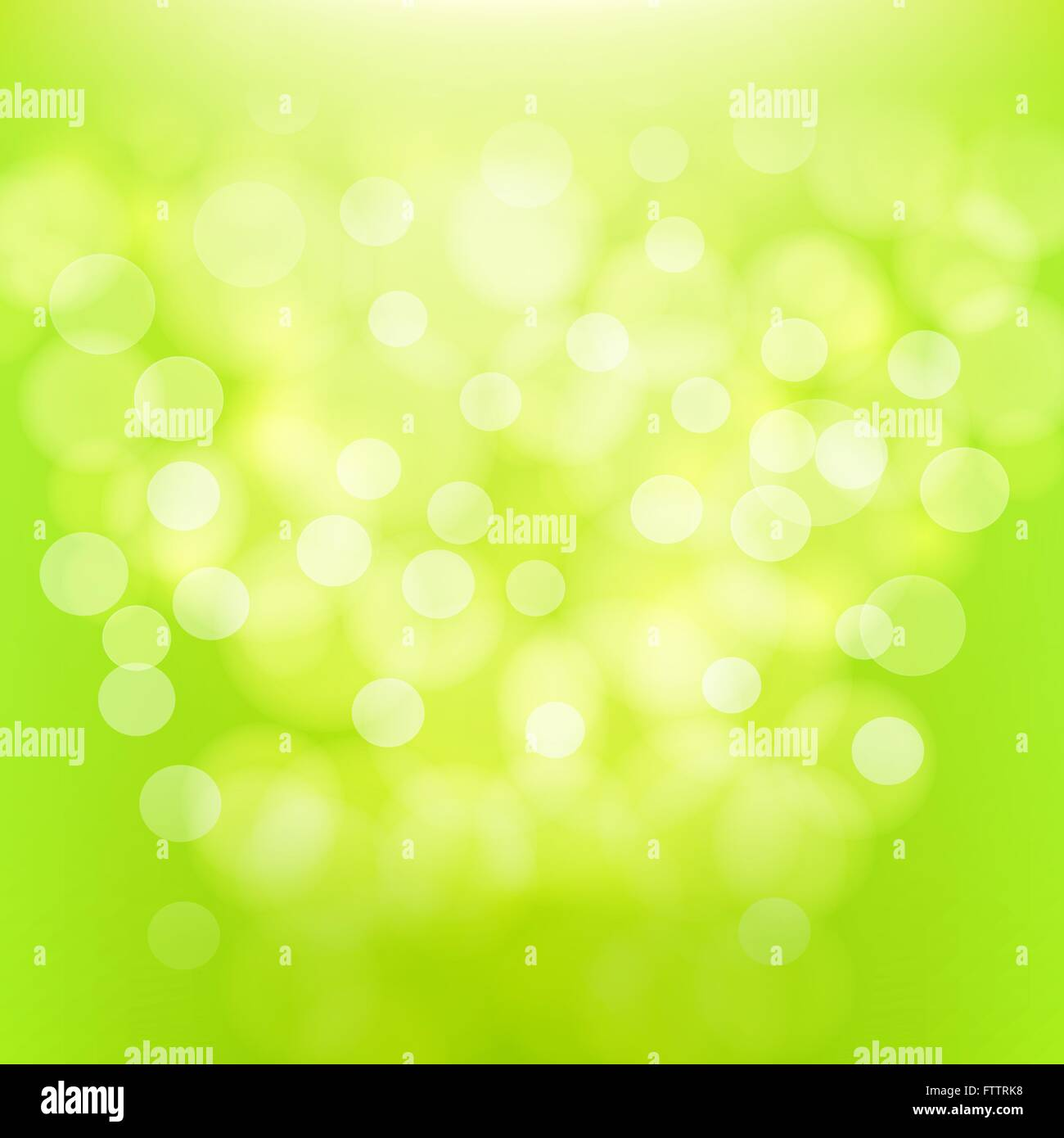 Abstract green blurred background. vector illustration - Stock Vector