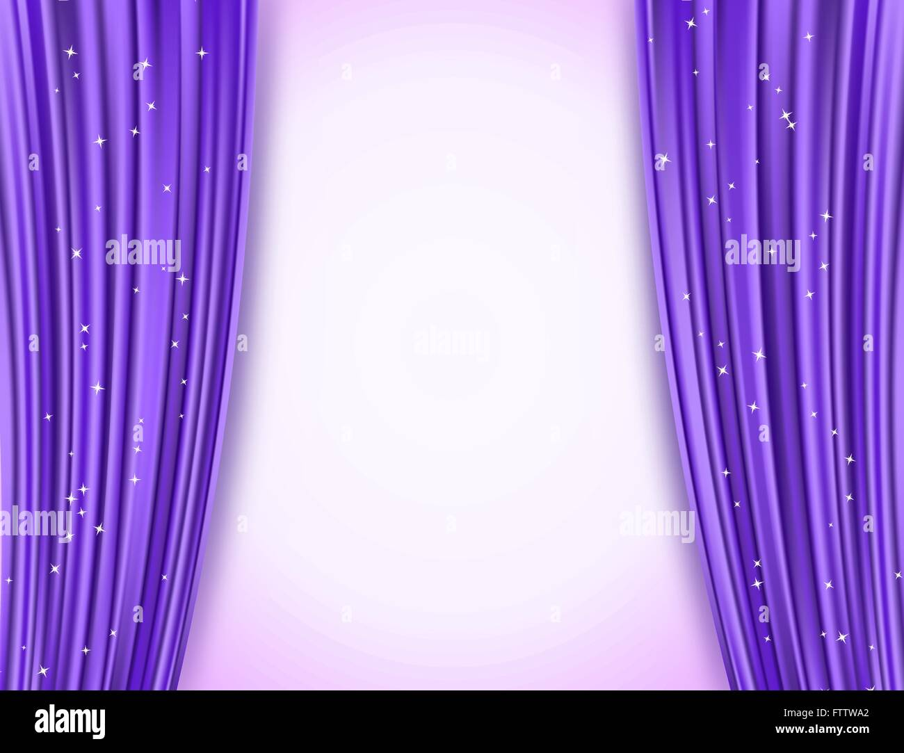 opera violet horizontal drapes glittering stars curtains photo illus background stock and vector abstract glitter theater with