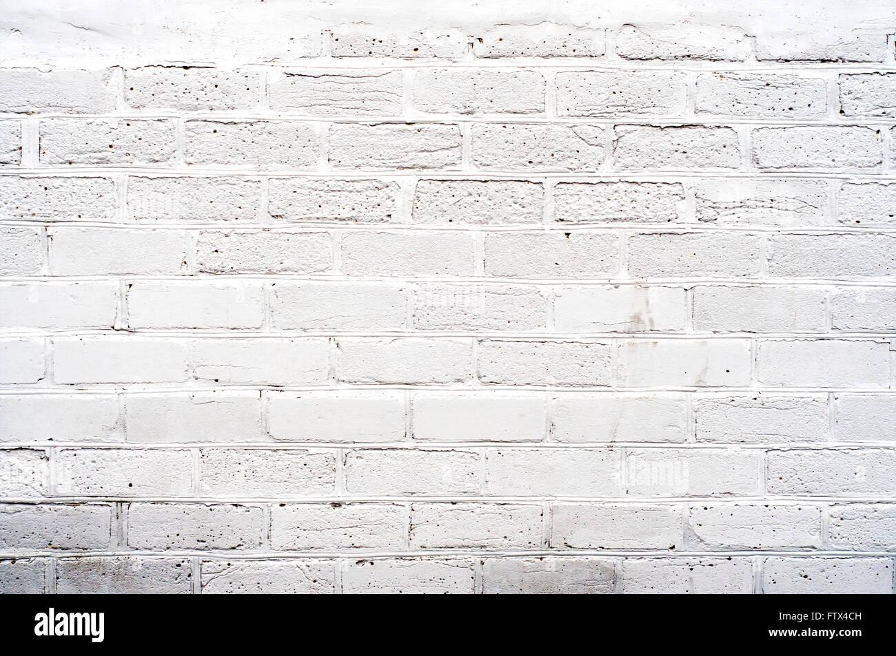 White Brickwall Stock Photo