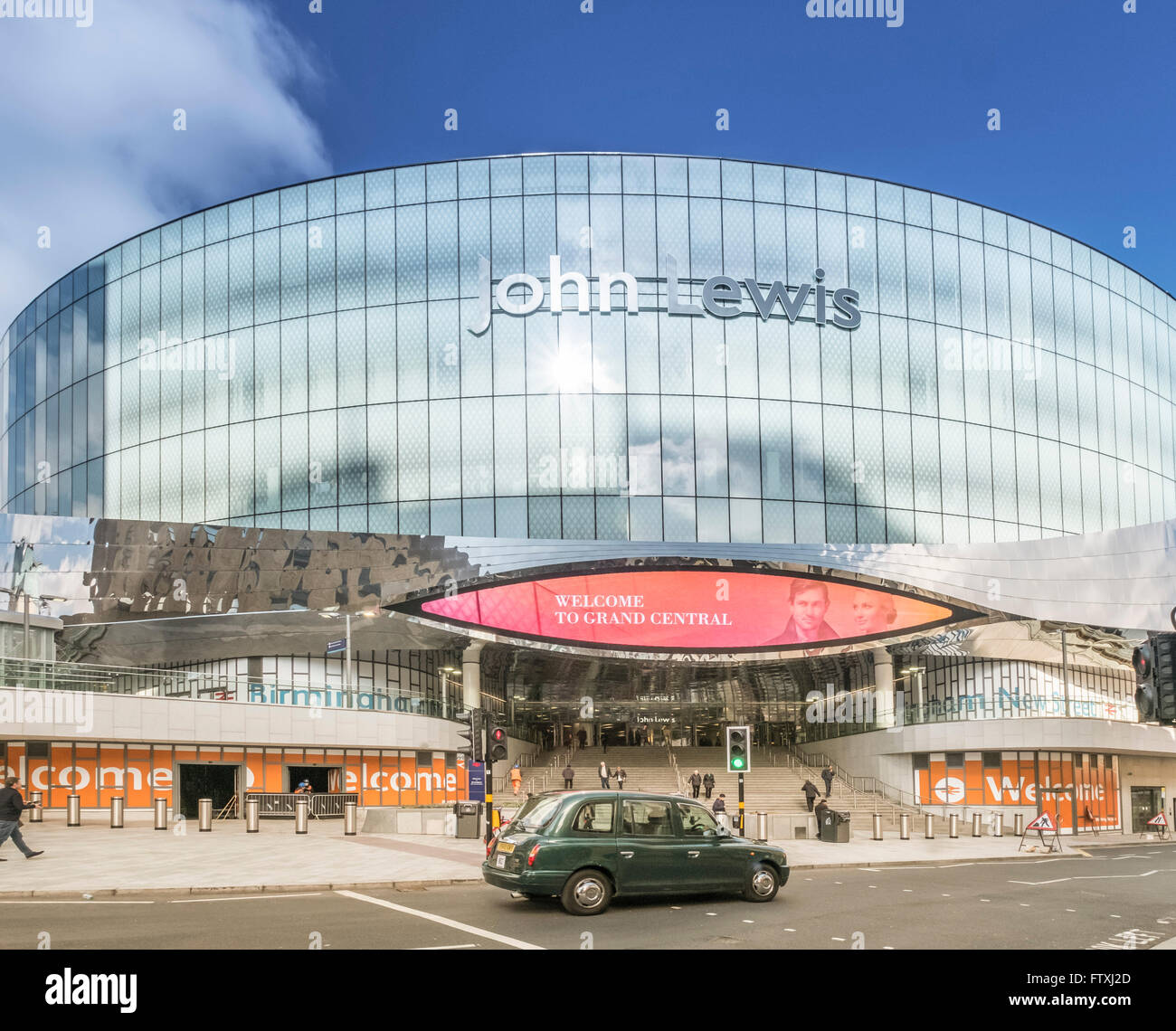 John Lewis store at Grand Central, Birmingham. For editorial usage. - Stock Image