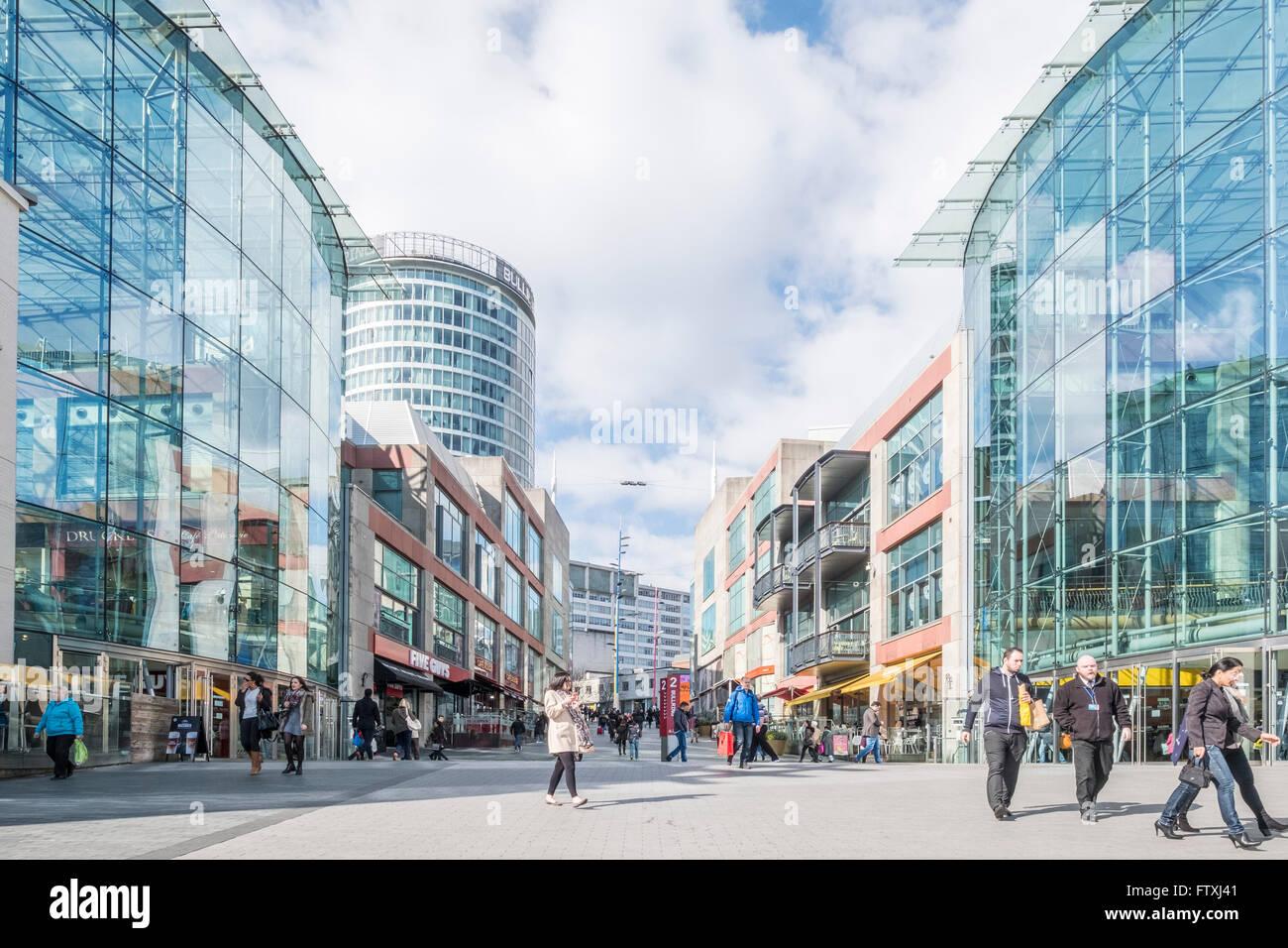 The Bullring Shopping Centre, Birmingham. - Stock Image