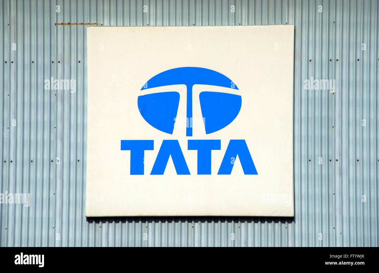 Tata Steel's steelworks at Llanwern, Newport,UK. a industry 'Port Talbot' 'Tata Group' Stock Photo