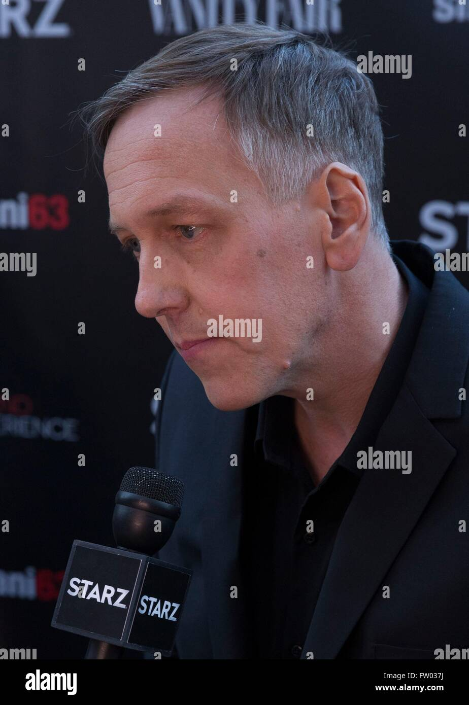 New York, NY, USA. 30th Mar, 2016. Lodge Kerrigan at arrivals for THE GIRLFRIEND EXPERIENCE Series Premiere on Starz, - Stock Image