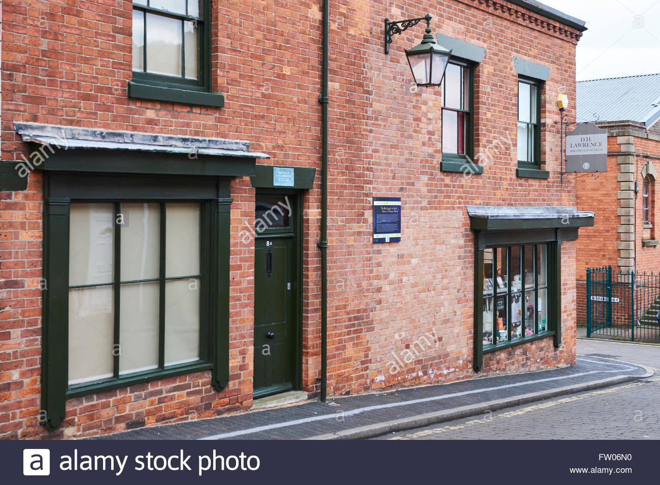 Eastwood, UK, 31 March 2016,  D H Lawrence Birthplace Museum  D H Lawrence Heritage Centre closes today so that - Stock Image