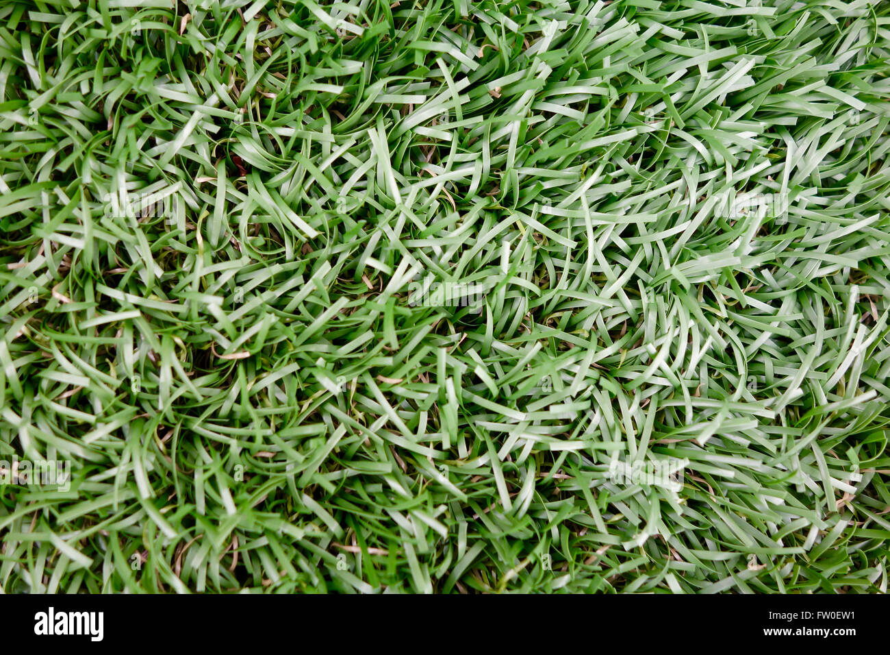 green astroturf used for background Stock Photo