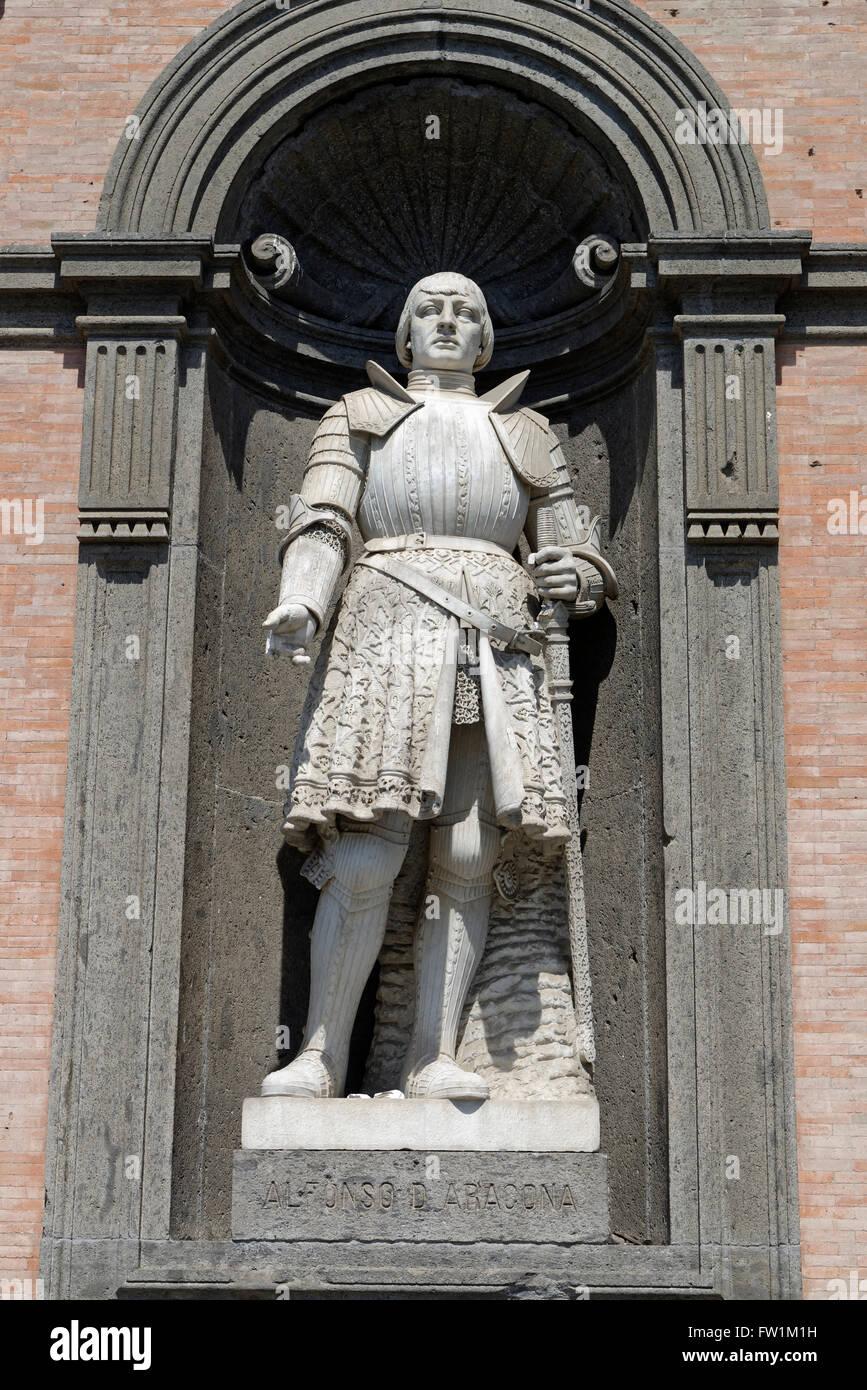 King Alfonso V of Aragon, stat...