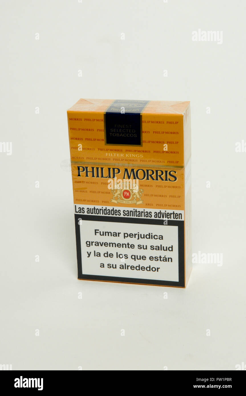 philip morris cigarettes packet stock photo 101457771 alamy. Black Bedroom Furniture Sets. Home Design Ideas