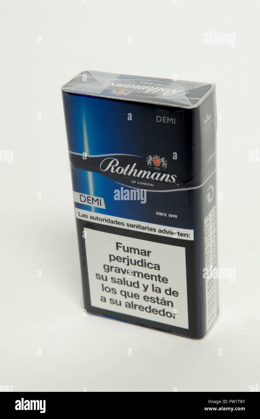 rothmans cigarettes stock photo 101459259 alamy