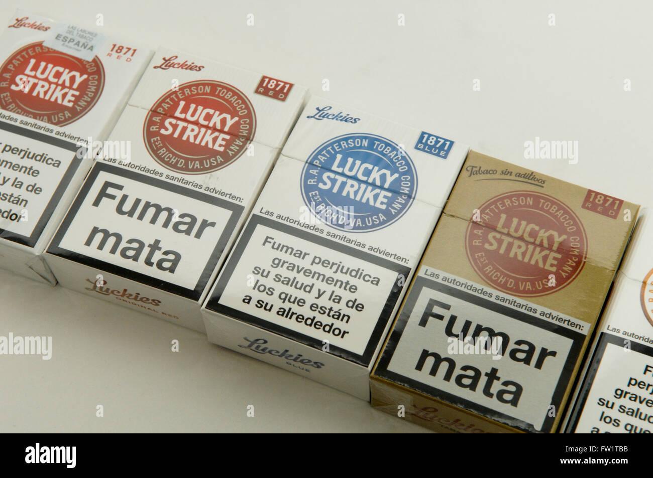 Cost of cigarettes Monte Carlo in England