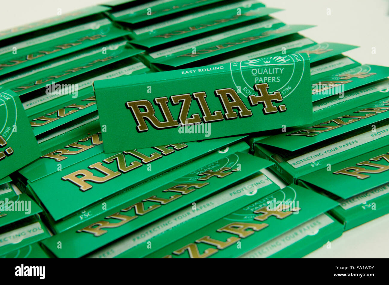 Rizla Rolling Papers Stock Photos Rizla Rolling Papers Stock