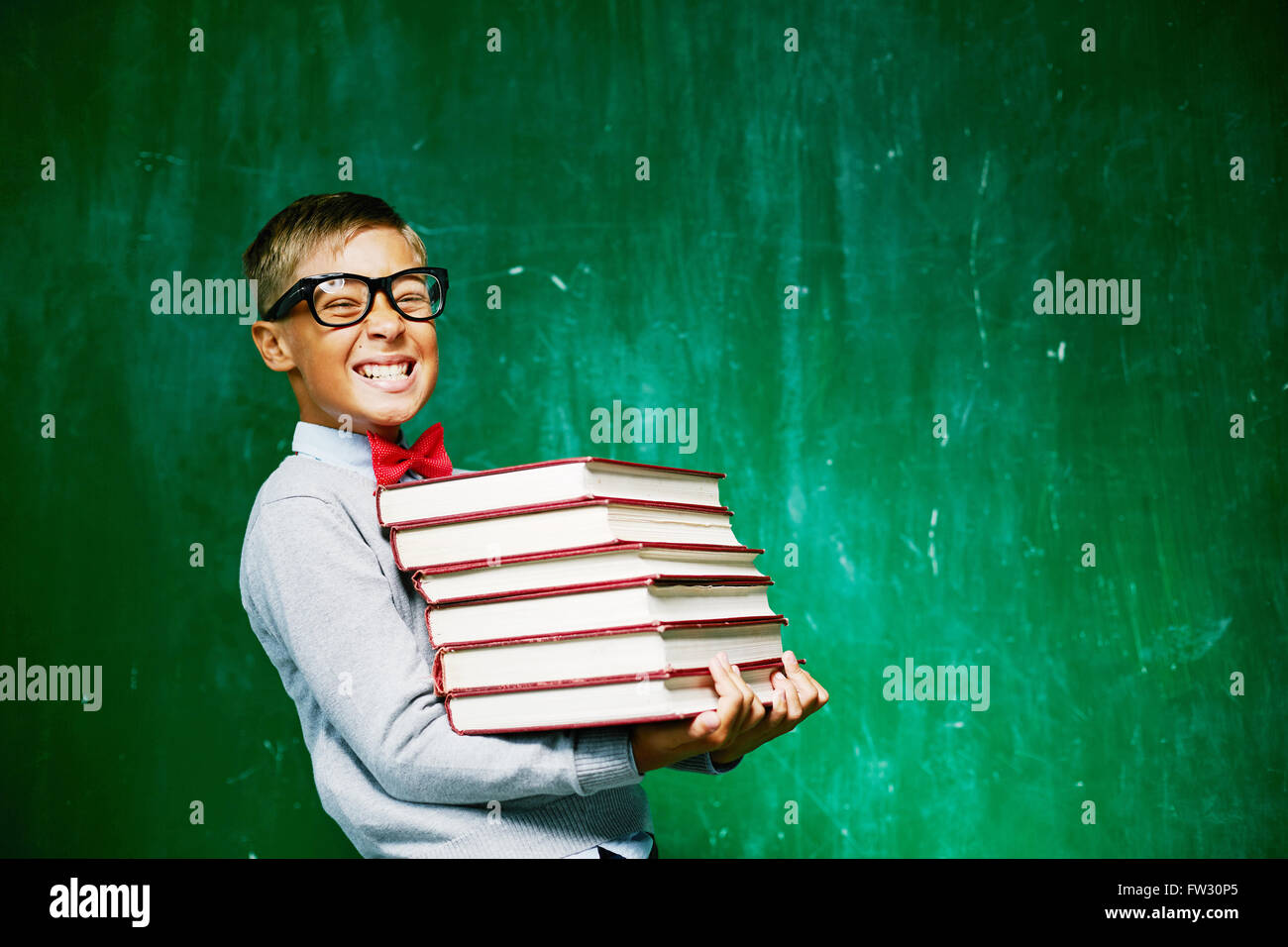 At school - Stock Image